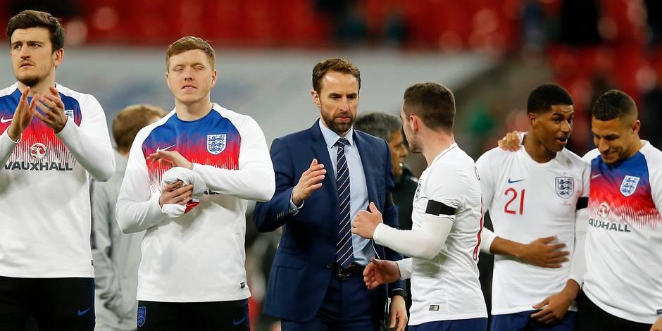 """Gareth Southgate, sélectionneur anglais, connaît """"19 ou 20 noms"""" qu'il emmènera au Mondial"""