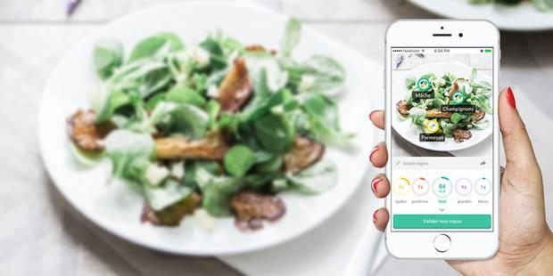 Foodvisor, cette appli qui compte les calories en photographiant votre assiette (PHOTOS) - La DH