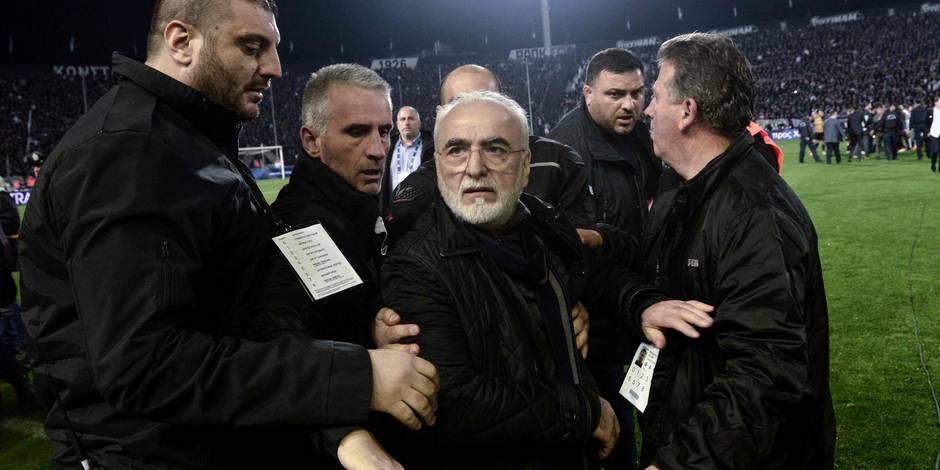 3 ans de suspension pour le président du PAOK