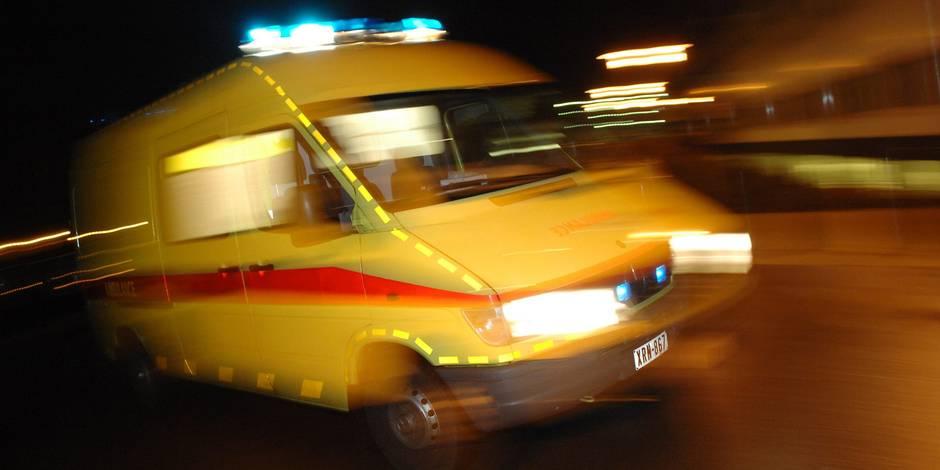 Une septuagénaire tuée dans un accident à Ramegnies-Chin