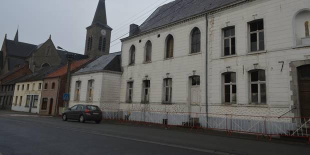 Querelle autour du couvent à Péruwelz - La DH