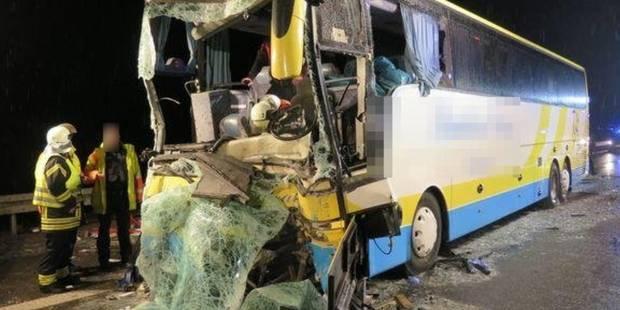Accident d'un autocar belge en Allemagne : le chauffeur belge décédé est originaire de Herent - La DH
