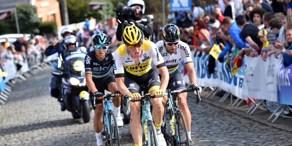 Le Néerlandais Niki Terpstra remporte le Tour des Flandres 2018