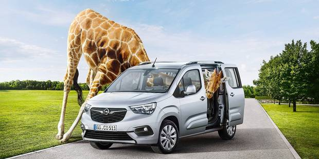 Combo Life, une Opel très frenchie - La DH
