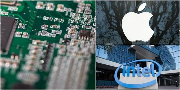 L'annonce d'Apple qui sème la panique chez Intel - La DH