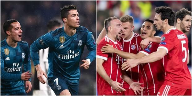 Le Real et un Ronaldo éblouissant mangent la Juve (0-3), le Bayern remonte Séville (1-2) (VIDEOS) - La DH