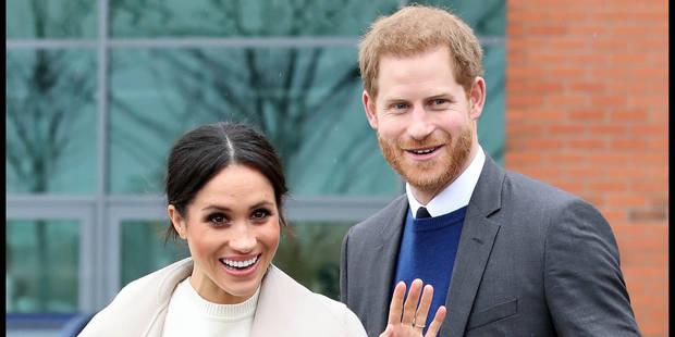 """Mariage de Meghan et Harry : 160 personnes """"obsédées"""" par la famille royale sous surveillance - La DH"""