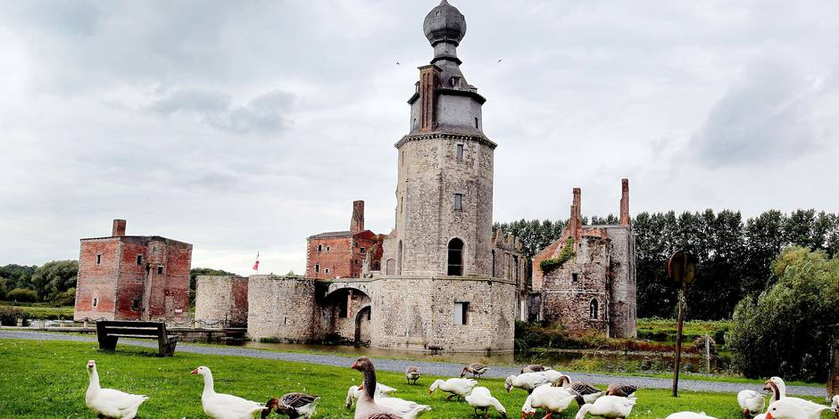 Château d'Havré: 21.305 euros consacrés aux travaux urgents