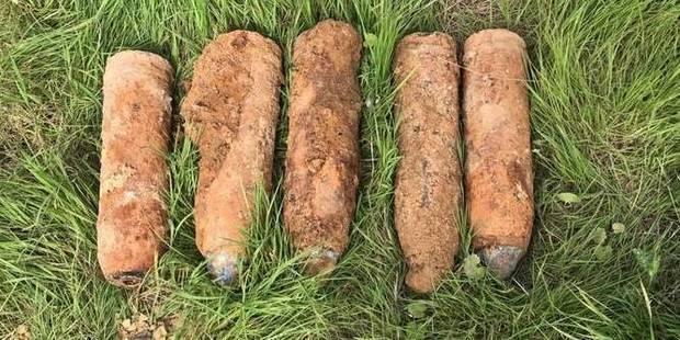 Stoumont : Un obus retrouvé dans le cimetière ! - La DH