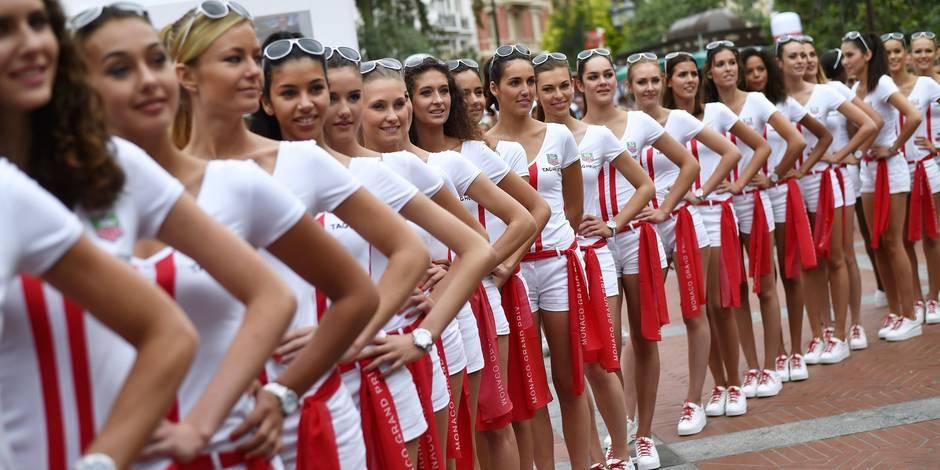 """Les """"grid girls"""" seront bien présentes au GP de Monaco"""