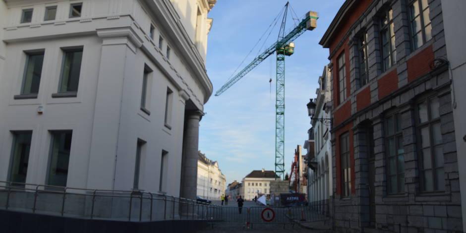 Danger écarté à la place Reine Astrid — Tournai