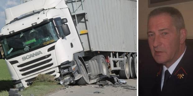 Le Louviérois Alain Roland tué par un poids lourd en France - La DH