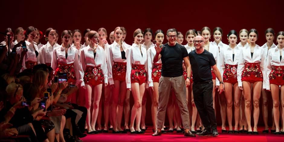 Dolce & Gabbana: après nous, pas d'autre designer