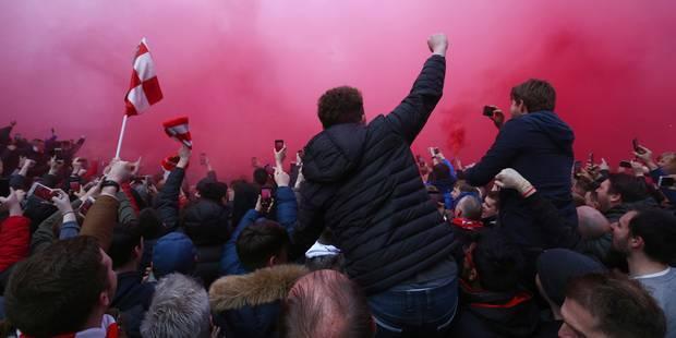 L'attaque du bus de Manchester City par les supporters de Liverpool vue de l'intérieur (VIDEO) - La DH