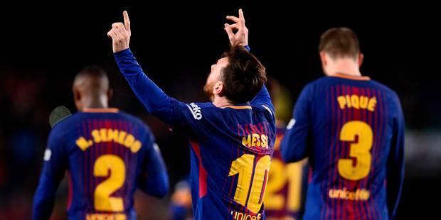 Liga : Le Barça de Messi s'offre un record d'invincibilité en Liga ! - La DH
