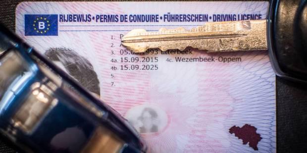 Permis de conduire: gros changements en Région bruxelloise - La DH
