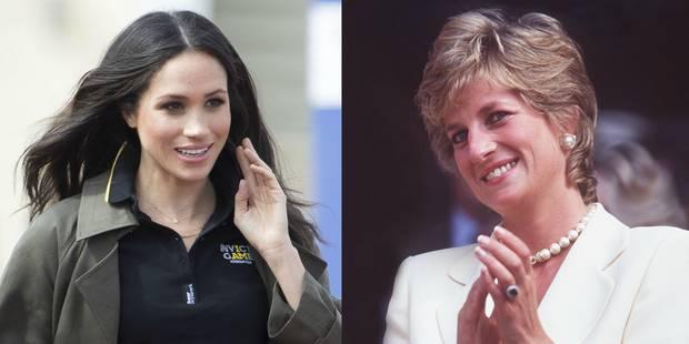 """Meghan Markle """"est la femme que Diana cherchait à devenir"""" - La DH"""