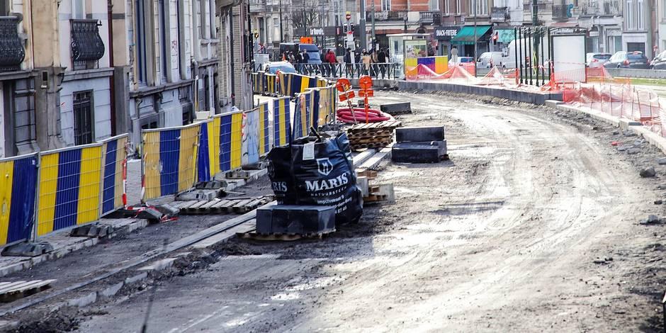 Travaux Boulevard Géneral Jacques, impact sur les commerces