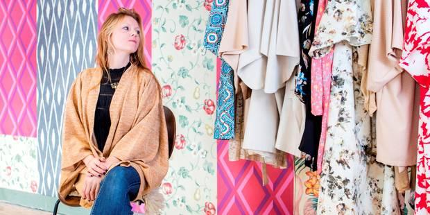 Coup de coeur pour les kimonos belges de Sara Van Steenkiste - La DH