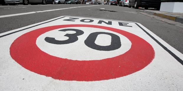 Les zones 30 s'élargissent en Région bruxelloise: quels avantages ? - La DH