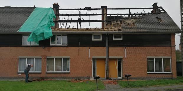 Un incendie criminel ravage trois maisons à Boussu (PHOTOS) - La DH
