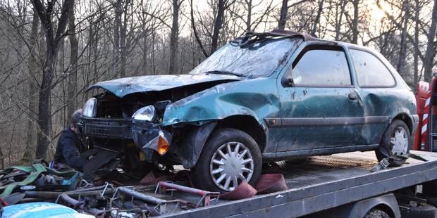 Cerfontaine: il se tue avec la voiture de sa compagne - La DH