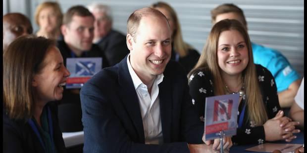 Le prince William a-t-il vendu la mèche concernant le sexe de son troisième enfant ? - La DH