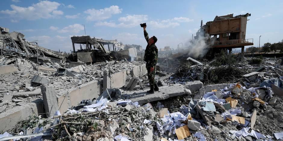 Syrie : Macron peine à démontrer l'efficacité des frappes