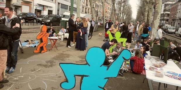 Bruxelles: Les riverains du Quartiers des quais veulent garder leur rue piétonne - La DH