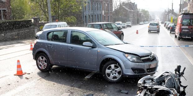 Une trentenaire grièvement blessée dans un accident de la route à Mazy - La DH