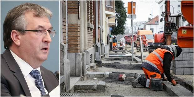 Travaux: 100 à 250€ d'indemnisation par jour pour les commerçants - La DH