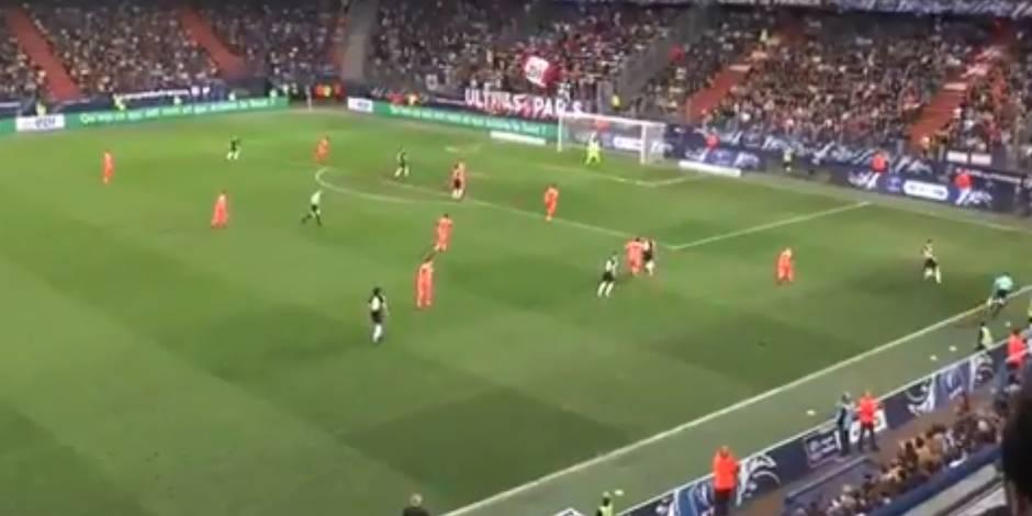 Meunier fauché par la pelouse à Caen: le joueur ironise sur Twitter (VIDEO)