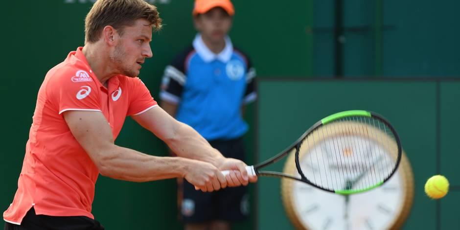 Monte-Carlo: Goffin affronte Dimitrov pour une place en demi-finale (DIRECT)