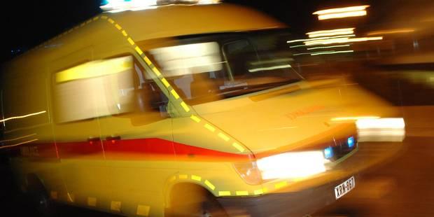 Nouvel accident impliquant un tracteur sur la N25 à Court-Saint-Etienne: un blessé grave - La DH