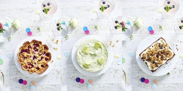 Le dessert du week-end : tarte amande framboises, cheesecake avocat-citron ou brownie crème et noix ? - La DH