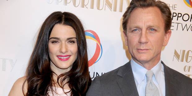 """Rachel Weisz et Daniel """"007"""" Craig attendent leur premier bébé ensemble - La DH"""