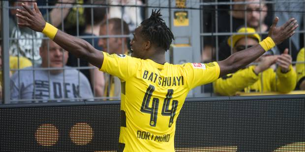 Dortmund intéressé par le transfert définitif de Michy Batshuayi - La DH