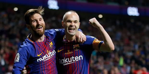 Espagne: le Barça gifle Séville 5-0 et décroche sa 30e Coupe du Roi - La DH