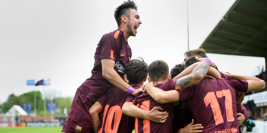 Le Barça sacré après une finale maîtrisée contre Chelsea — Youth League