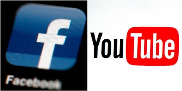 YouTube et Facebook suppriment des millions de messages et vidéos violents, à caractère sexuel ou de propagande - La DH